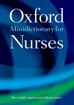 Minidictionary for Nurses by Elizabeth A. Martin