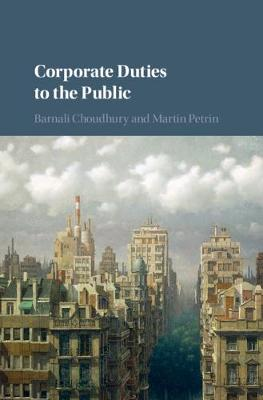 Corporate Duties to the Public book