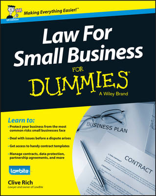 Law for Small Business for Dummies UK Edition by Clive Rich