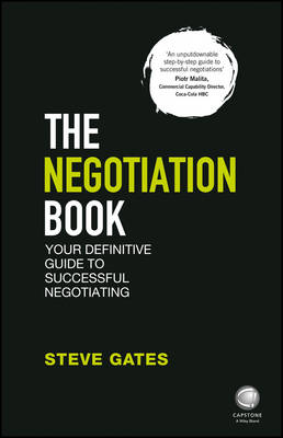 The Negotiation Book by Steve Gates