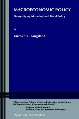 Macroeconomic Policy by Farrokh K. Langdana