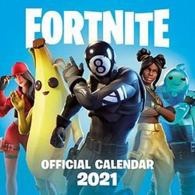 FORTNITE Official 2021 Calendar book