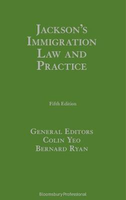 Jackson's Immigration Law and Practice by David C. Jackson