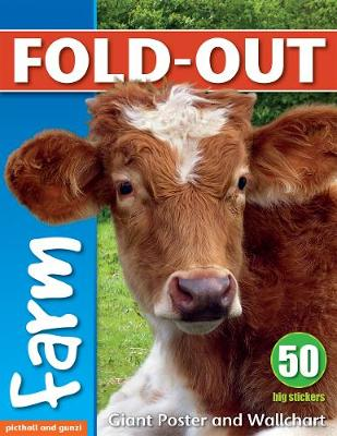 Fold-Out Poster Sticker Book: Farm by Chez Picthall