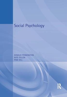 Social Psychology by Richard Gross