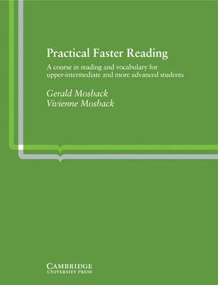 Practical Faster Reading by Gerald Peter Mosback