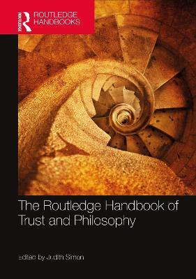 The Routledge Handbook of Trust and Philosophy book