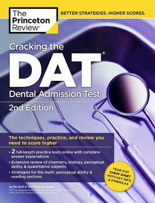 Cracking the DAT by Princeton Review