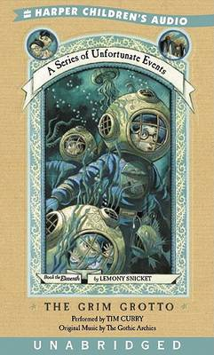 The Grim Grotto UN (3/270) by Lemony Snicket