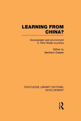 Learning From China? by Bernhard Glaeser