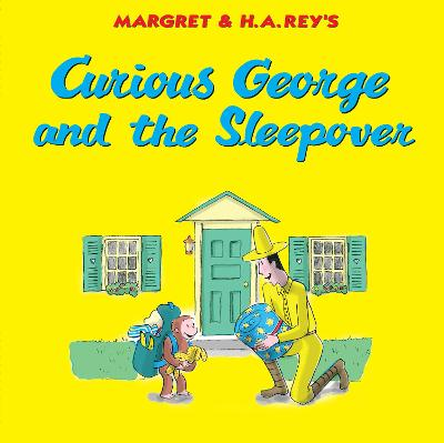Curious George and the Sleepover book