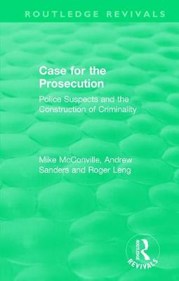 : Case for the Prosecution (1991) by Mike McConville