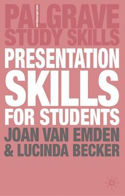 Presentation Skills for Students book