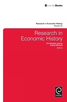 Research in Economic History by Christopher Hanes