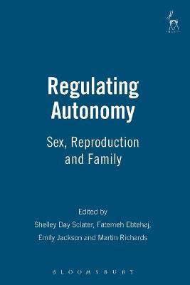 Regulating Autonomy book