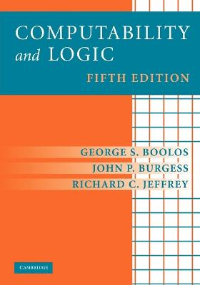 Computability and Logic book