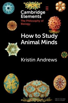 How to Study Animal Minds book