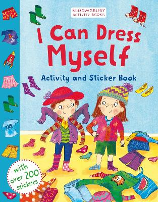 I Can Dress Myself: Activity and Sticker Book book