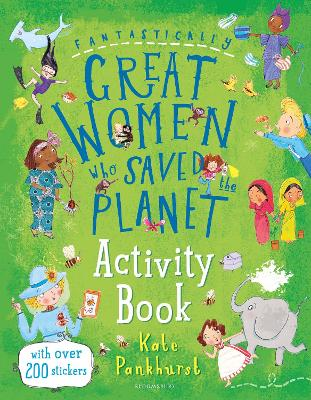 Fantastically Great Women Who Saved the Planet Activity Book by Kate Pankhurst