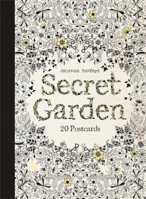 Secret Garden: 20 Postcards by Johanna Basford