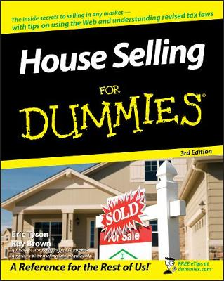 House Selling for Dummies, 3rd Edition book