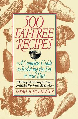500 Fat Free Recipes by Schlesinger