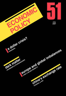 Economic Policy  51 by Georges De Menil