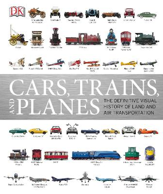 Cars, Trains and Planes book