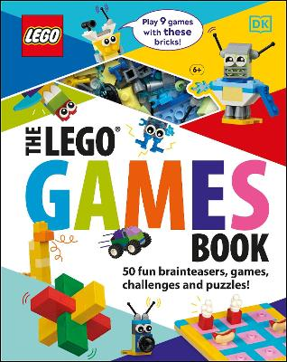 The LEGO Games Book: 50 fun brainteasers, games, challenges, and puzzles! book