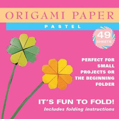 """Origami Paper - Pastel Colors - 6 3/4"""" - 48 Sheets: Tuttle Origami Paper: High-Quality Origami Sheets Printed with 6 Different Colors: Instructions for 6 Projects Included by Tuttle Publishing"""