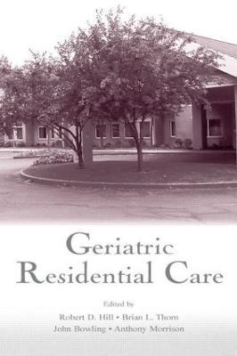 Geriatric Residential Care book