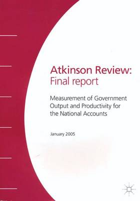 The Atkinson Review: Final Report by Anthony Barnes Atkinson