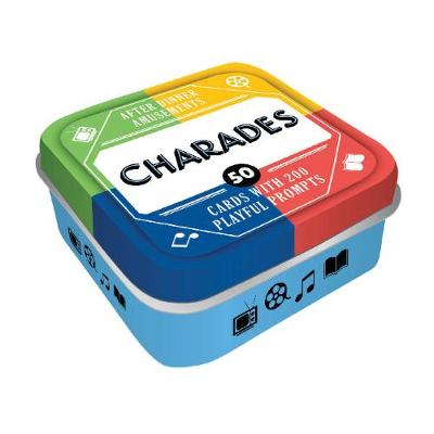 After Dinner Amusements: Charades: 50 Cards with 200 Playful Prompts by Chronicle Books