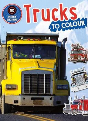 Trucks to Colour book