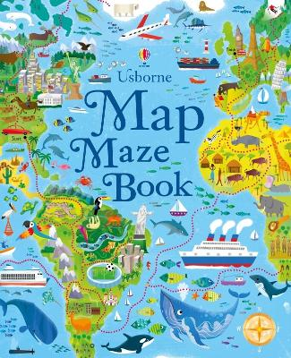 Map Mazes by Sam Smith