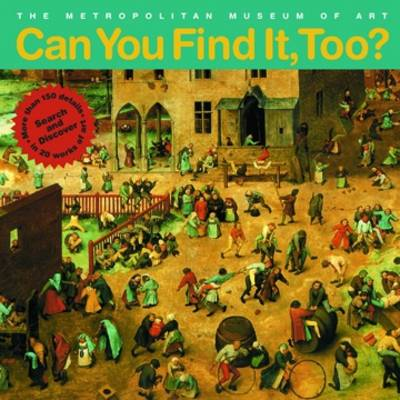 Can You Find it Too? book