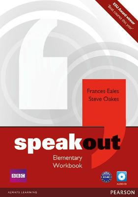 Speakout Elementary Workbook no Key with Audio CD Pack by Frances Eales