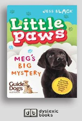 Meg's Big Mystery: Little Paws 2 by Jess Black
