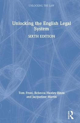 Unlocking the English Legal System book