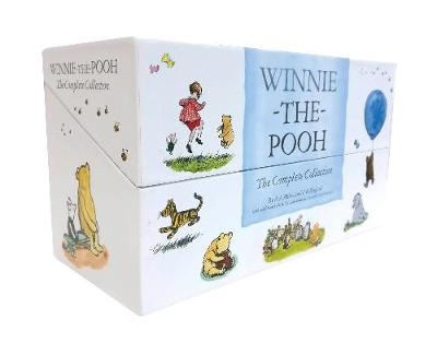 Winnie-the-Pooh Complete 30 copy slipcase by A. A. Milne