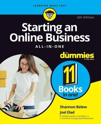 Starting an Online Business All-in-One For Dummies book