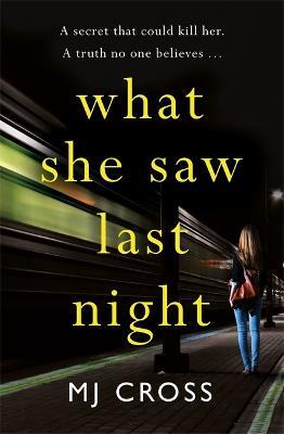 What She Saw Last Night by Mason Cross