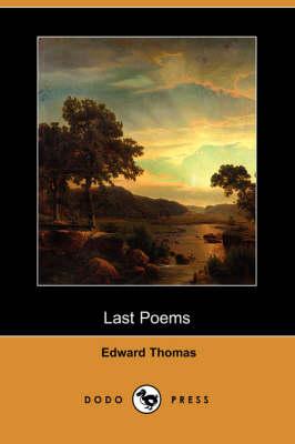 Last Poems (Dodo Press) book