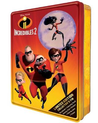 INCREDIBLES 2 LIMITED ED TIN book
