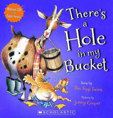There's a Hole in My Bucket (with CD) by Jenny Cooper