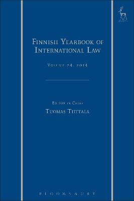 Finnish Yearbook of International Law, Volume 24, 2014 by Jarna Petman