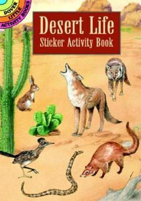 Desert Life Sticker Activity Book by Steven James Petruccio
