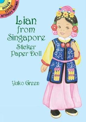 Lian from Singapore Sticker PD by Yuko Green
