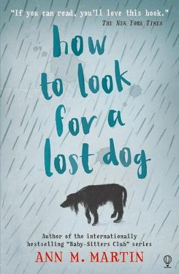 How to Look for a Lost Dog by Ann M Martin