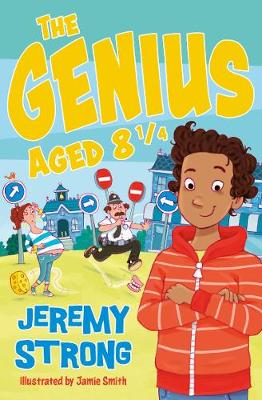 The The Genius Aged 8 1/4 by Jeremy Strong